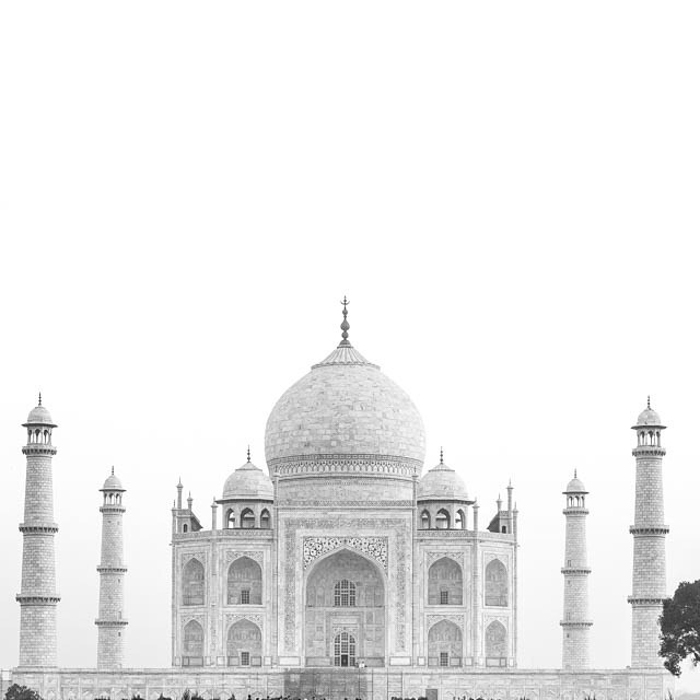 The Taj. Agra India April 2015