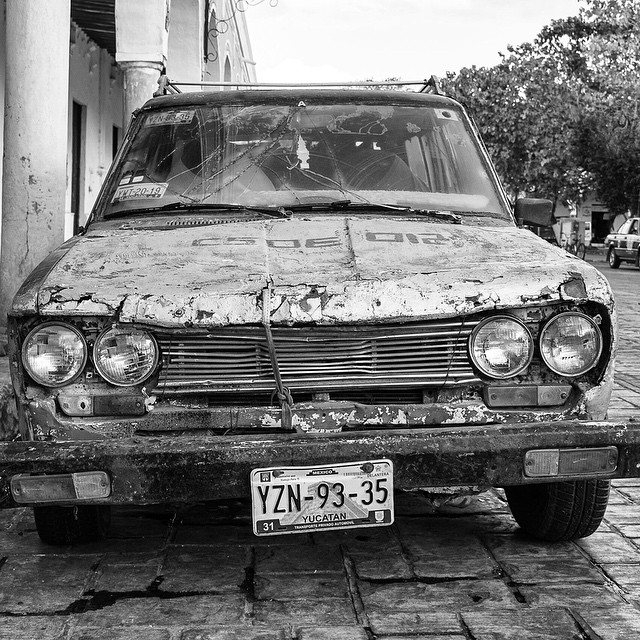 Hey, it runs amigo. Love this car. Merida, Mexico. Lots of good stuff in the Yucatan. It's more than just Cancun and Playa del Carmen.