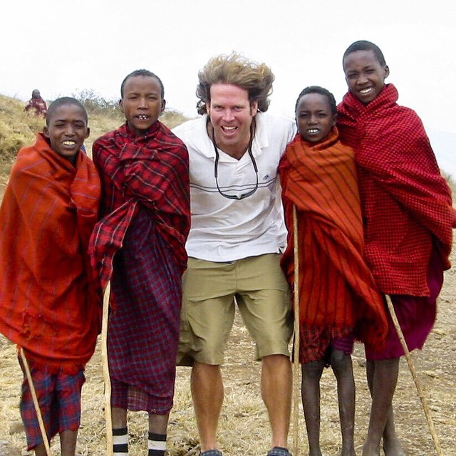 Me and my friends. Tanzania, Africa 2002. #tbt  Tanzania is an amazing country to visit. I met these Maasai Warriors on a windy hilltop. It's moments like these that make traveling fun and just not a photo in National Geographic.