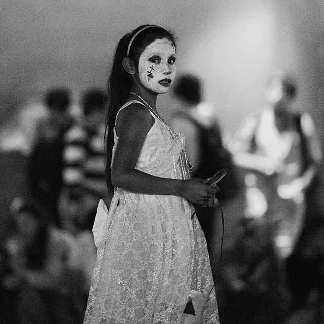 Ghost Girl. Day of the Dead. San Miguel de Allende. October 2012. If you have never been to Mexico to see the Day of the Dead you should. It's awesome.