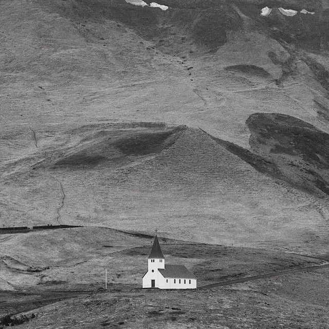Church on the hill. Iceland 2014