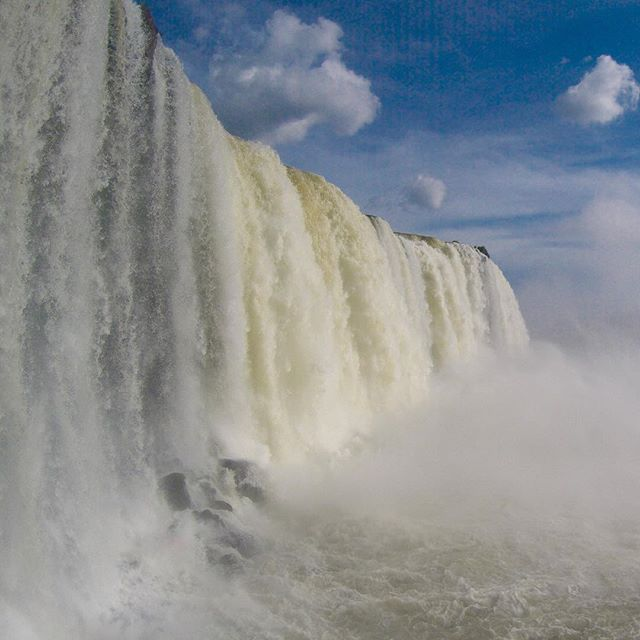 These falls rock.  Iguacu Falls Argentina. Fun times in town as well.