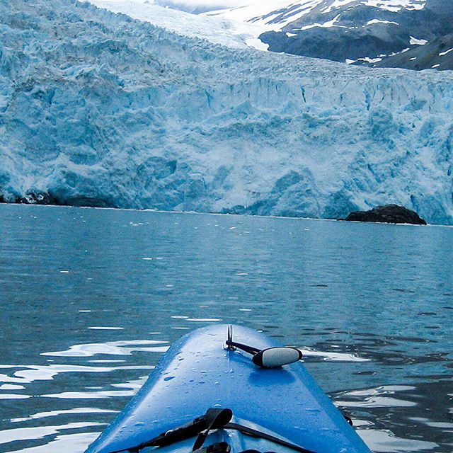 When you visit Alaska you have to get out on the water. Was amazing to watch and hear the glacier calf. Seward, Alaska 2005