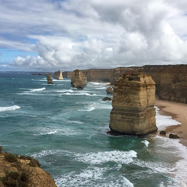 The 12 Apostles on the Great Ocean Road. Pretty nice place to be.