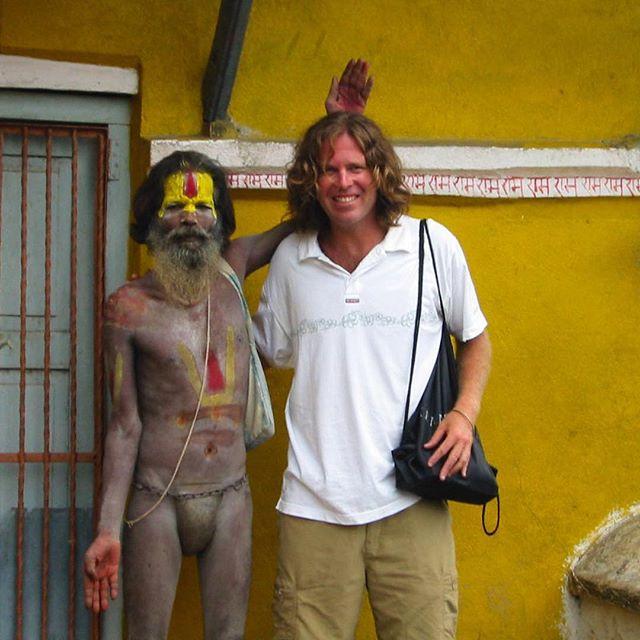 I think I'm goin' to Kathmandu. Throw back to 2002.  See you tomorrow Kathmandu.