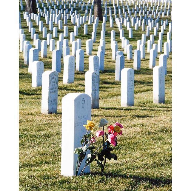 For all who served a day to remember no matter what country you live in. Arlington National Cemetery. March 2007